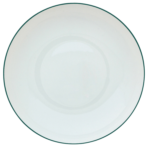 Rim Soup Plate, 9 inch, 20 1/3 ounce | Raynaud Uni Monceau - Peacock Blue