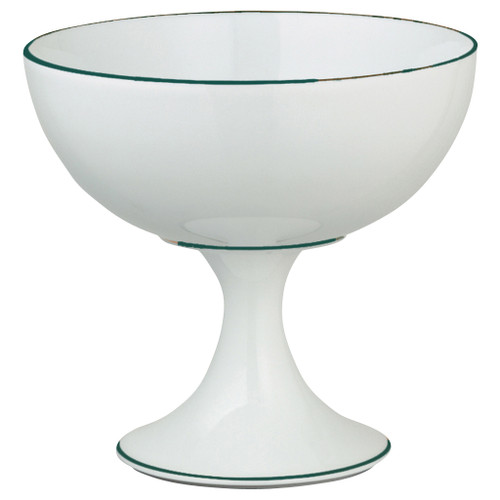 Ice Cream Cup, 4 3/5 inch | Raynaud Uni Monceau - Peacock Blue
