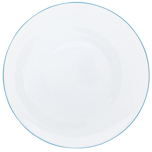 Dinner Plate, 10 3/5 inch | Raynaud Uni Monceau - Turquoise Blue