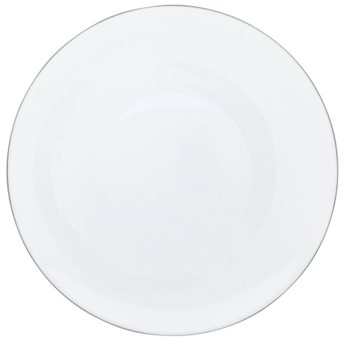 Dinner Plate, 10 3/5 inch | Raynaud Uni Monceau - Pearl Grey