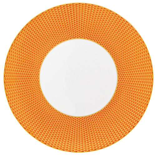 Orange Dinner Plate, 10 3/5 inch | Raynaud Uni Tresor
