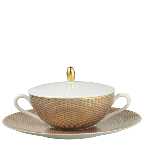 Cover for Cream Soup Cup, 4 5/7 inch | Raynaud Uni Tresor