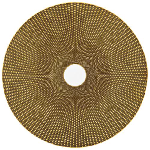 Brown Buffet Plate, 12 3/5 inch | Raynaud Uni Tresor