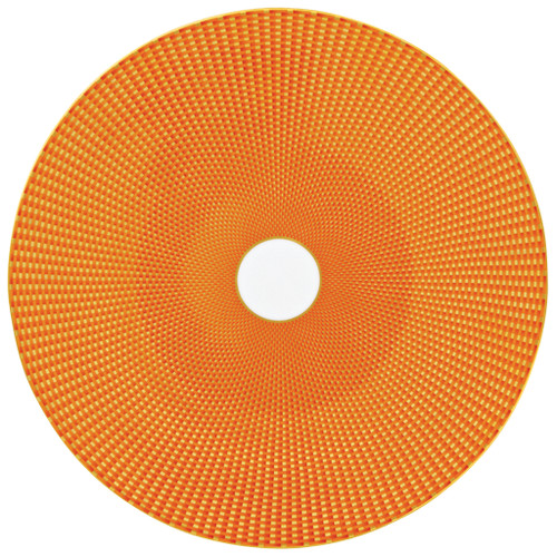 Orange Buffet Plate, 12 3/5 inch | Raynaud Uni Tresor