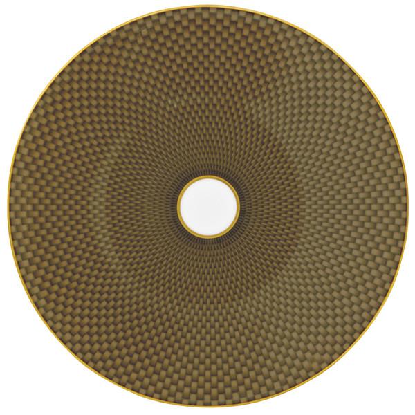 Brown Dessert Plate, 8 2/3 inch | Raynaud Uni Tresor