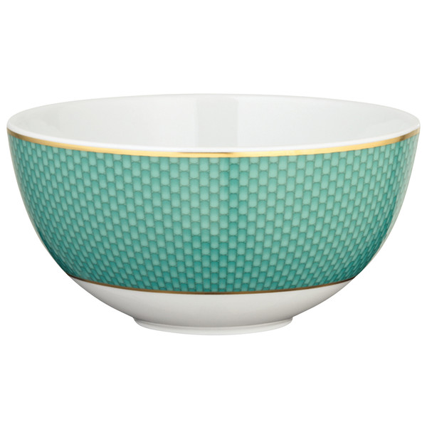 Turquoise Bowl, 5 1/2 inch, 15 ounce | Raynaud Uni Tresor