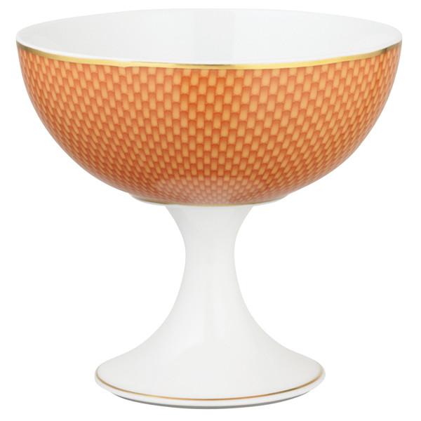 Orange Ice Cream Cup, 4 3/5 inch | Raynaud Uni Tresor