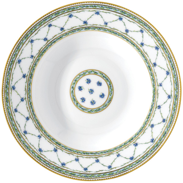 French Rim Soup Plate, 9 inch | Raynaud Menton Alle Royale