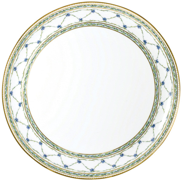 Flat Cake Plate, 12 1/5 inch | Raynaud Menton Alle Royale
