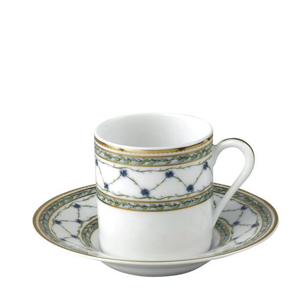 Coffee Saucer, 5 inch | Raynaud Menton Alle Royale