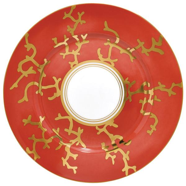Dessert Plate, 8 2/3 inch | Raynaud Menton Cristobal - Coral