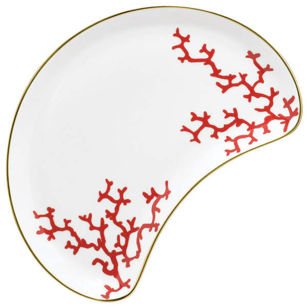 Pickle Dish | Raynaud Menton Cristobal - Coral