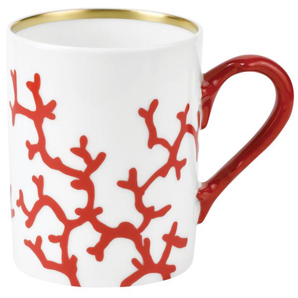 Mug, 3 1/9 inch, 9 1/3 ounce | Raynaud Menton Cristobal - Coral