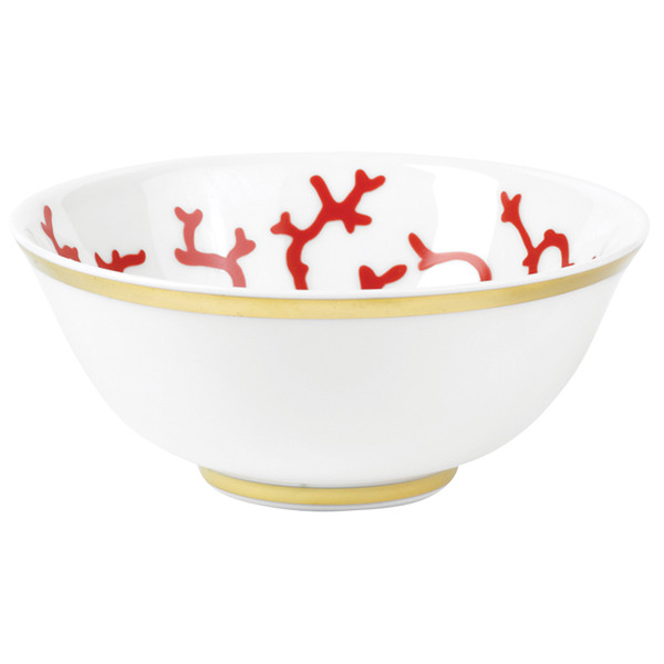 Soup Bowl, 4 5/7 inch, 8 1/5 ounce | Raynaud Menton Cristobal - Coral