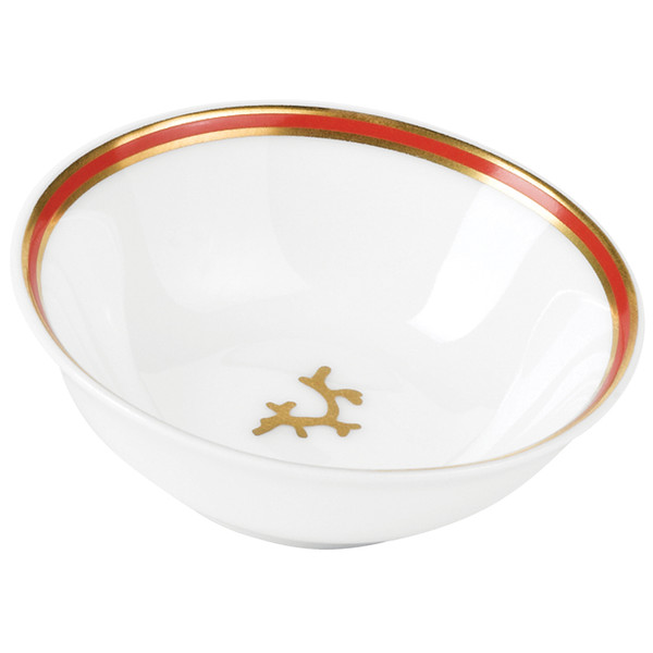 Soja Dish, 2 5/7 inch, 1 ounce | Raynaud Menton Cristobal - Coral