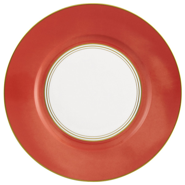 Dinner Plate #3, 10 3/5 inch | Raynaud Menton Cristobal - Coral