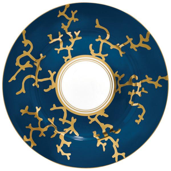 Dessert Plate, 8 2/3 inch | Raynaud Menton Cristobal - Marine