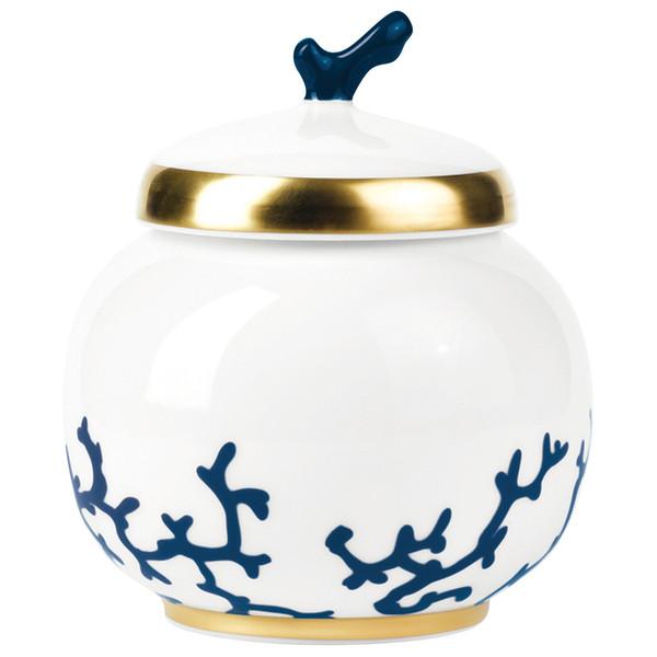 Sugar Bowl, 2 2/5 inch, 8 2/5 ounce | Raynaud Menton Cristobal - Marine
