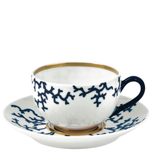 Tea cup, 3 3/5 inch, 8 2/5 ounce | Raynaud Menton Cristobal - Marine