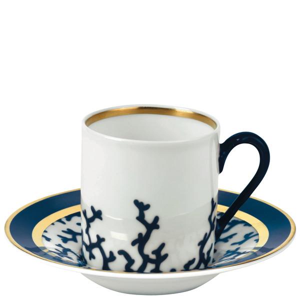 Coffee Saucer, 5 inch | Raynaud Menton Cristobal - Marine