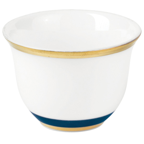 Sake cup, 2 2/7 inch, 1 2/3 ounce | Raynaud Menton Cristobal - Marine