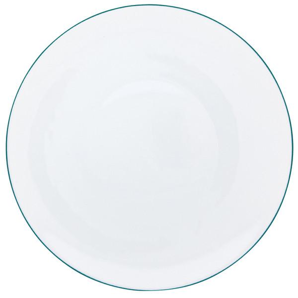 Dinner Plate, 10 3/5 inch | Raynaud Uni Monceau - Peacock Blue