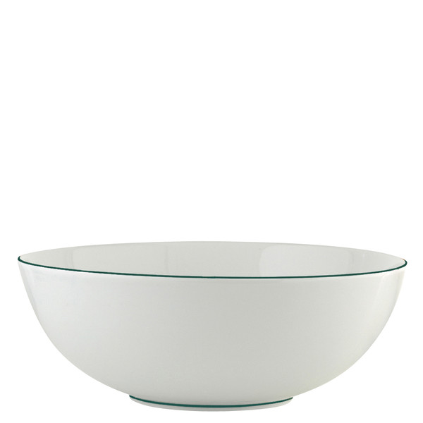 Salad Bowl, large, 10 2/5 inch, 66 5/7 ounce | Raynaud Uni Monceau - Peacock Blue