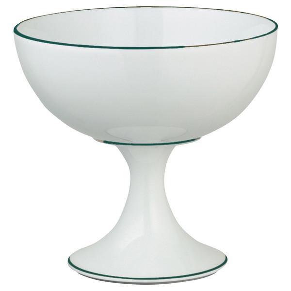 Ice Cream Cup, 4 3/5 inch | Raynaud Uni Monceau - Peacock Blue