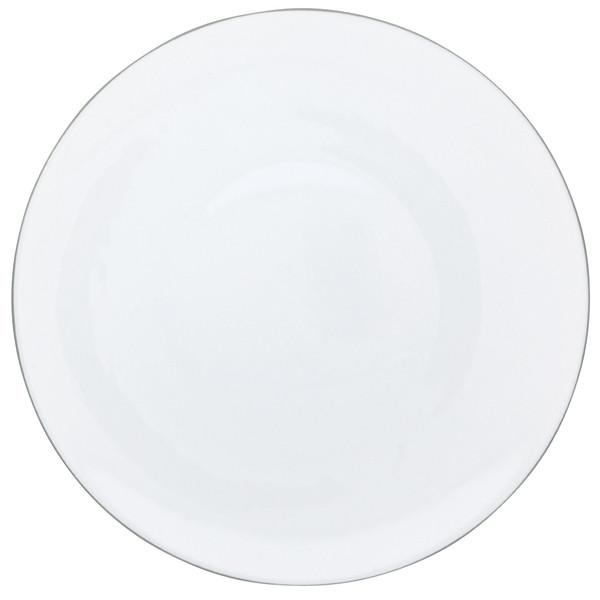 Dinner Plate, 10 3/5 inch | Raynaud Uni Monceau - Pearl Grey