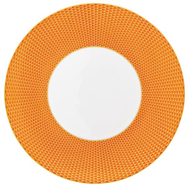 Orange Dinner Plate, 10 3/5 inch | Raynaud Uni Tresor