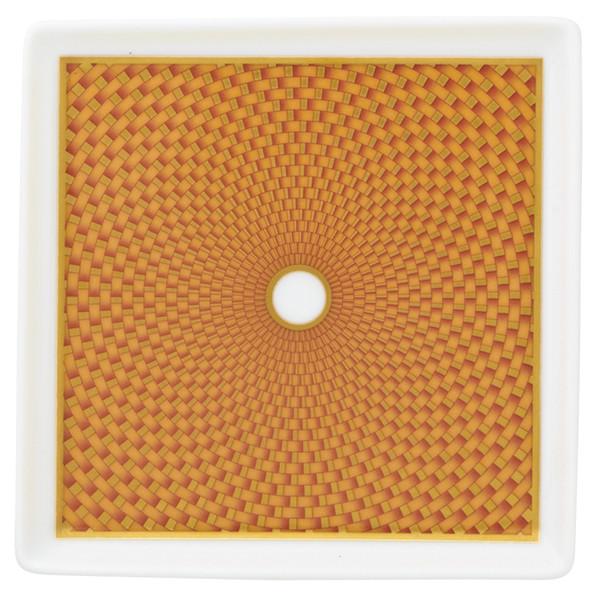 Orange Small Tray, 4 2/7 inch | Raynaud Uni Tresor