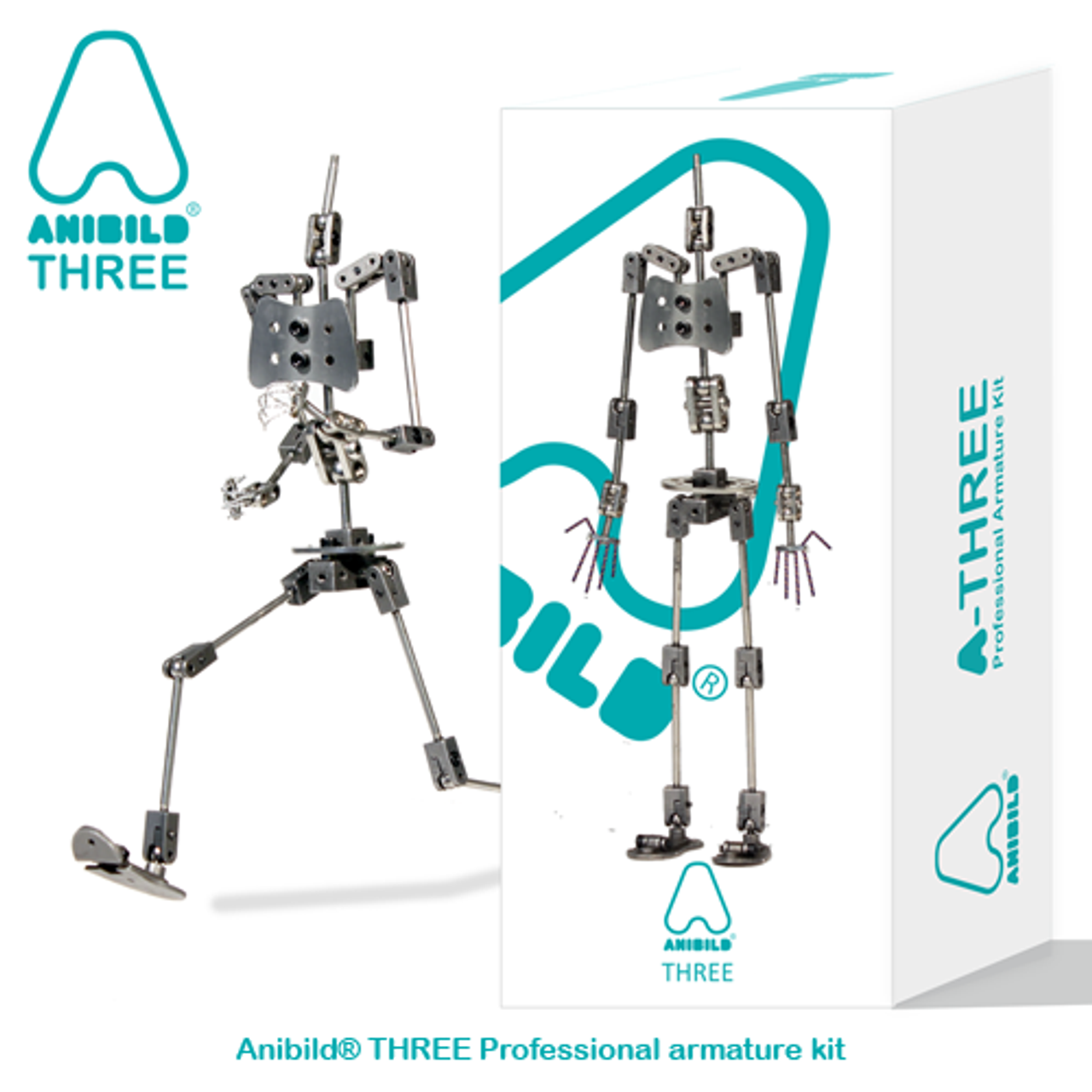 Anibild® THREE Professional Armature