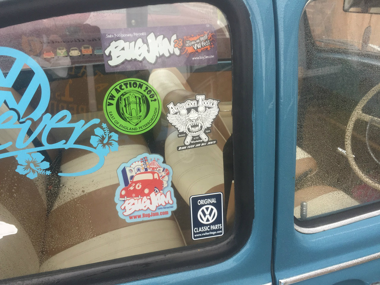 Blood Sweat and Ball Joints Sticker
