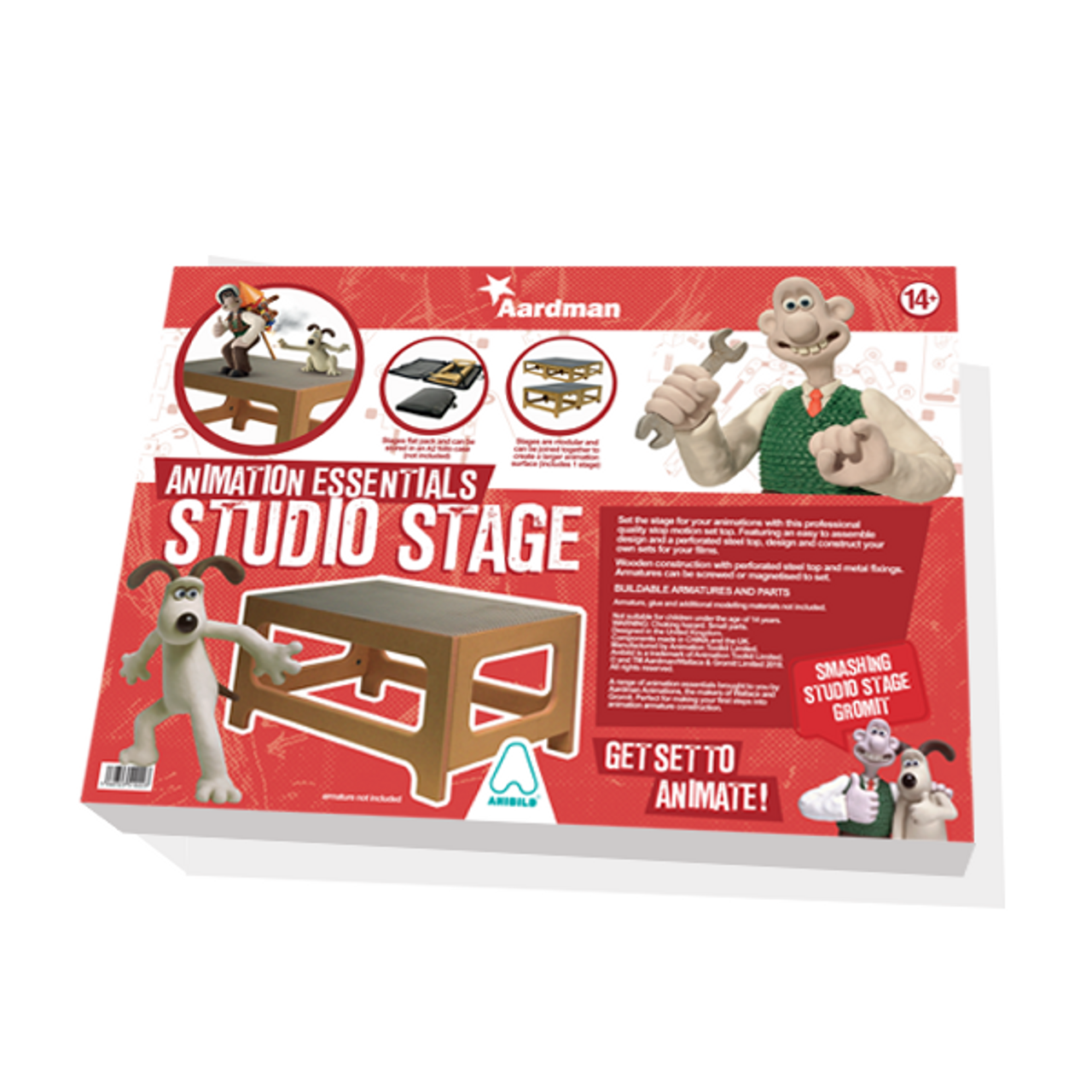 Aardman Armatures Stage