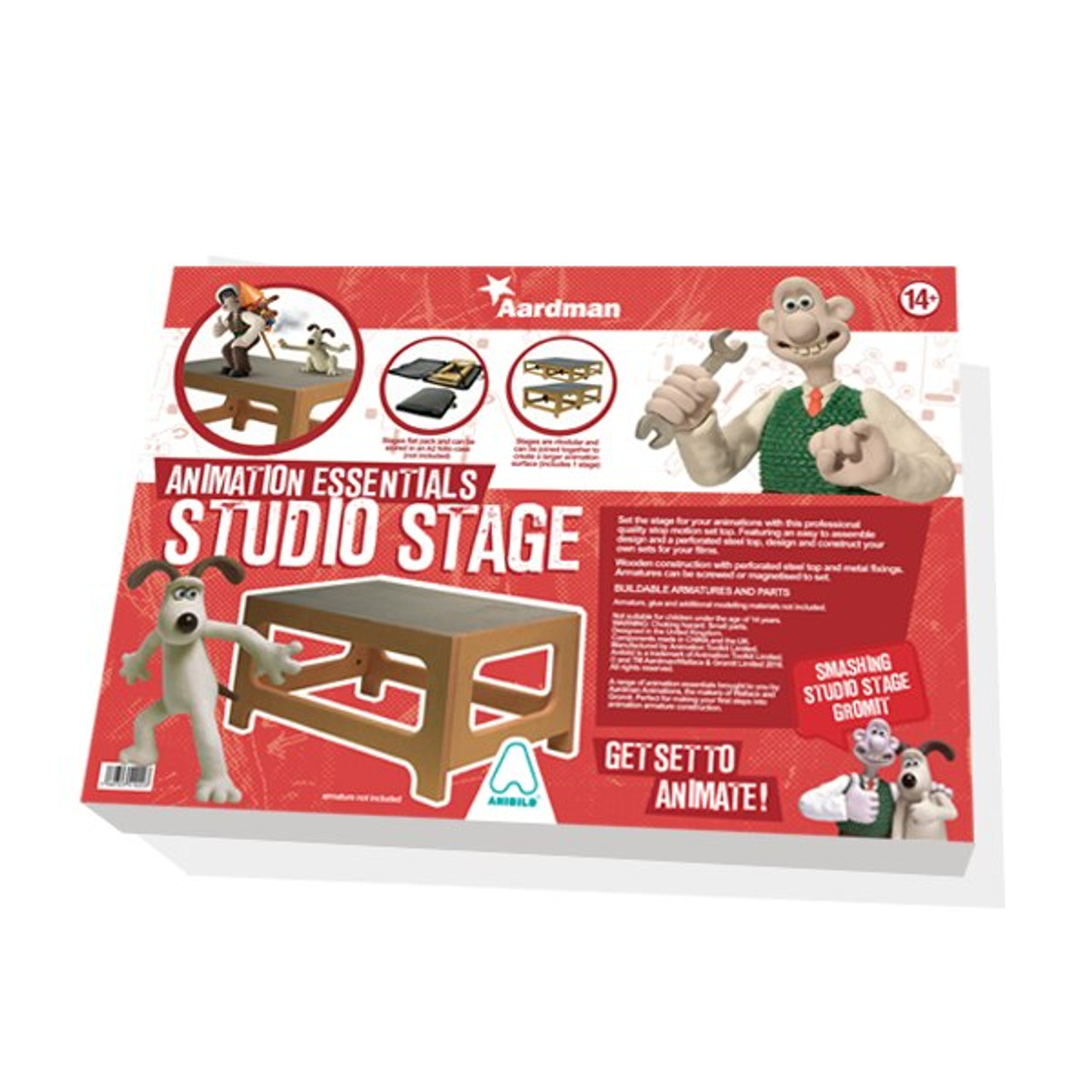 Aardman Armatures Studio Set