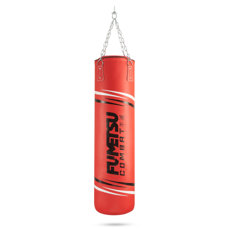 Fumetsu Charge 4ft Punch Bag Red/Black