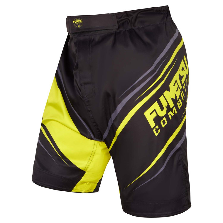 Fumetsu Shield Fight Shorts Black/Neon