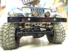 Left drop front leafed for RC4WD TF2 with Ribbed Diff Cover shown on TF2 SWB with Tamiya Jeep body