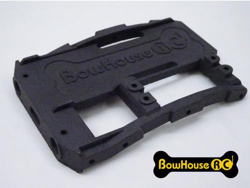 HD Battery Tray + Servo & Bumper Mount for SCX10 2 v2