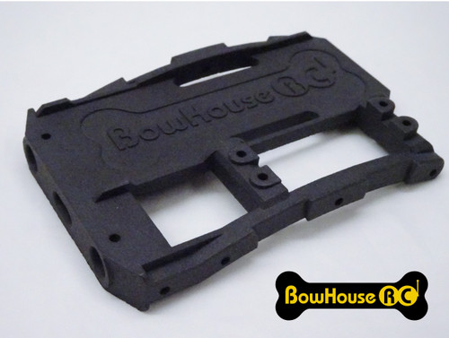 HD Battery Tray + Servo & Bumper Mount for SCX10 2 v2