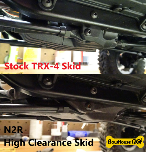 N2R High Clearance Skid for Traxxas TRX-4 v2