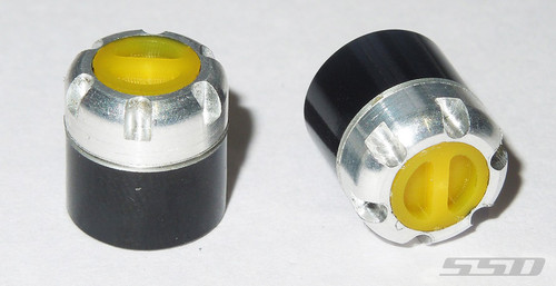 Scale Locking Hubs (Yellow)