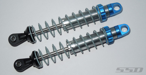 Pro Scale 90mm Shocks (Silver/Blue)