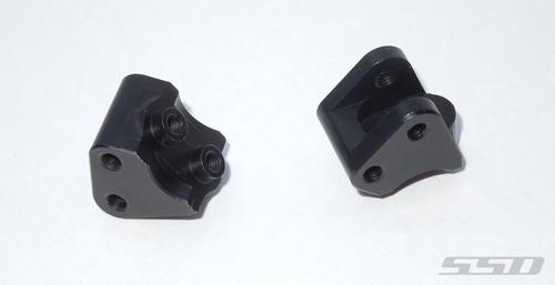 Aluminum Link Mounts for SCX10 II (Black)