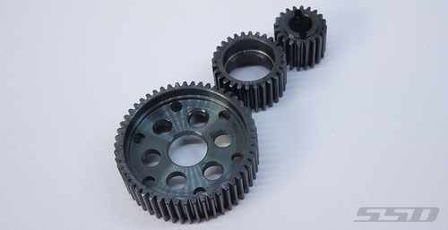 SSD HD Steel Transmission Gear Set for SMT10 / SCX10 / Wraith