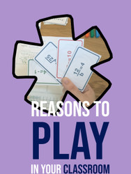 Reasons to  Play Games in Your Classroom (especially in secondary school)