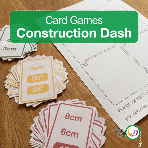 Construction Dash Card Game Cover