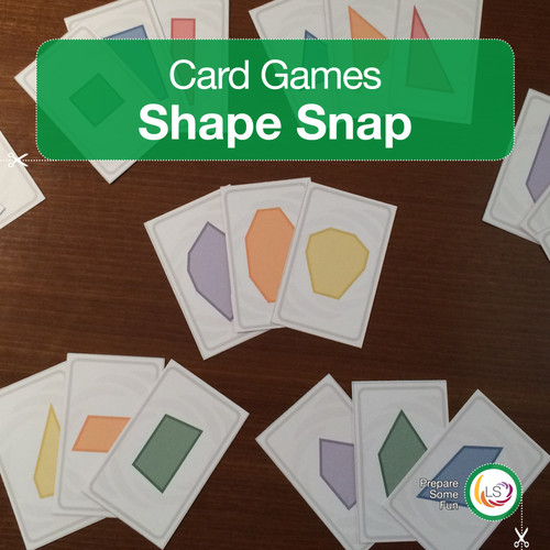 Shape Snap Card Game Cover