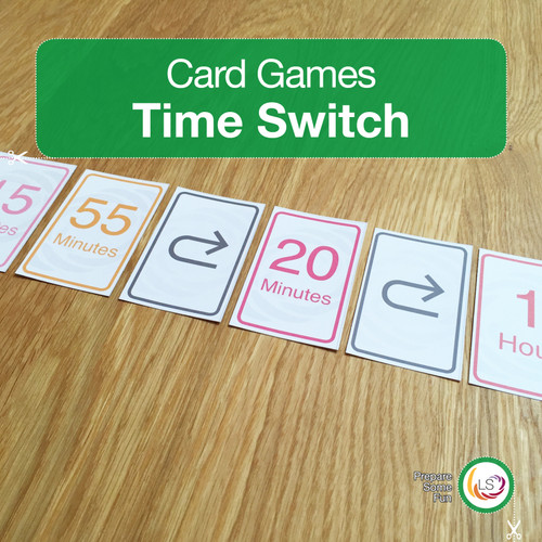 Time Switch Card Game Cover