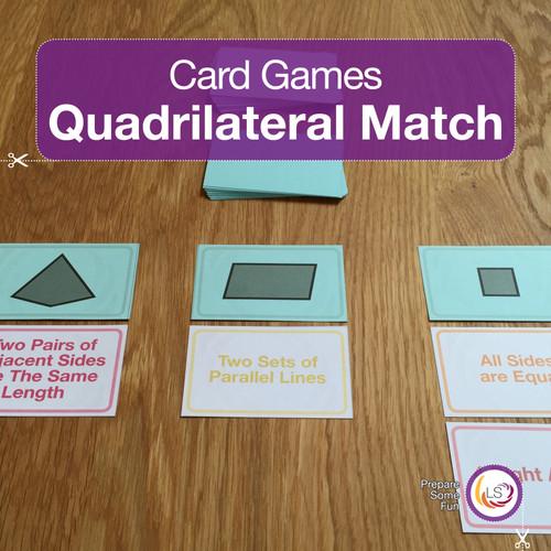 Quadrilateral Match Cover